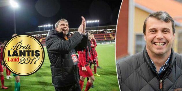 Årets lantis – på tredje plats: Daniel Kindberg leder Östersunds FK till toppen
