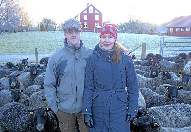 Karl-Johan och Malin i Långasjö.