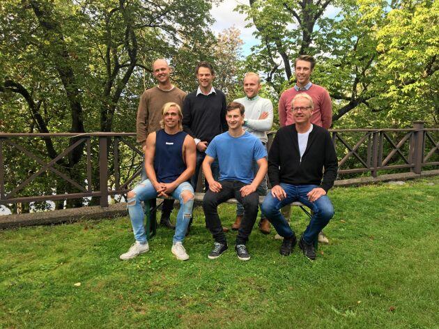 Här är alla de sju manliga bönderna som ställer upp i Bonde söker fru 2019.