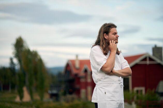 Förra hösten köpte Magnus tillsammans med sin fru Tove en äppelodling i södra Sverige.