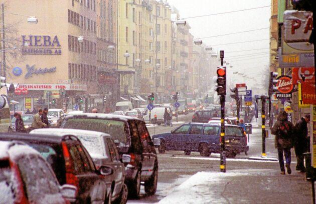 Hornsgatan i Stockholm.