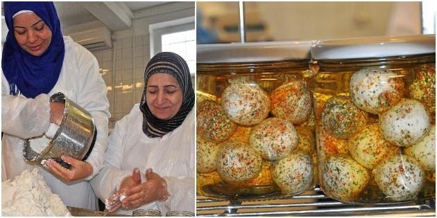 """Växer med palestinsk ost: """"Snart behövs en större lokal"""""""
