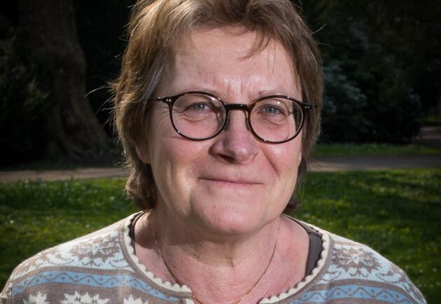 Gunilla Berg, rådgivare på Jordbruksverkets växtskyddscentral i Alnarp.