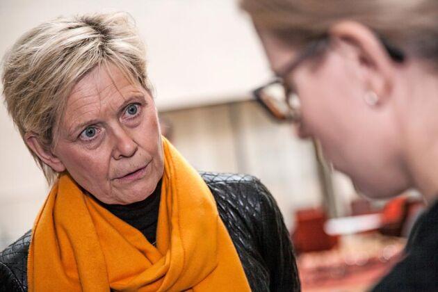 Maria Forshufvud, VD för Svenskt Kött, deltog i griskrismötet på landsbygdsdepartementet i februari. Då bildades arbetsgrupper för att försöka lyfta grisbranschen ur krisen. Nu har branschorganisationen startat en ny kampanj.
