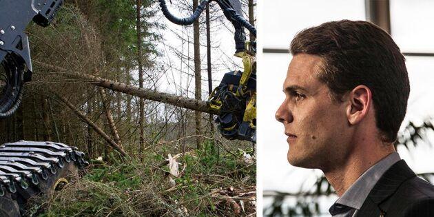 """""""Aktivt skogsbruk ska premieras – inte bekämpas"""""""
