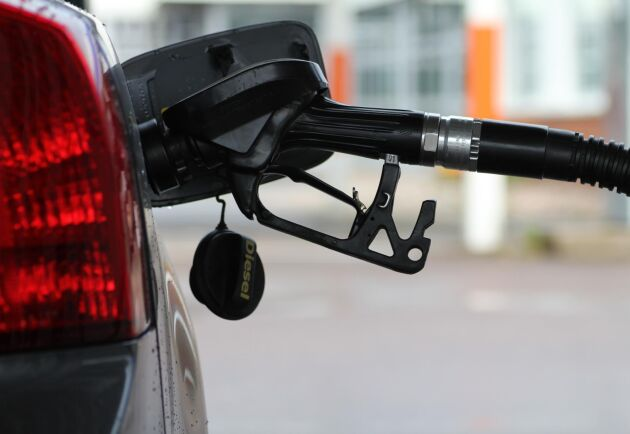 Under tisdagen höjdes riktpriset på diesel till 15,46 kronor/liter.