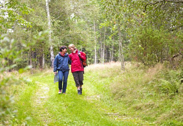 I alla fall något bra och nyttigt du kan ägna dig åt när som helst. Sverige är fullt av vandringsleder, både långa och korta. Gä en dag med fika i ryggsäcken, eller en vecka med tält och full packning.