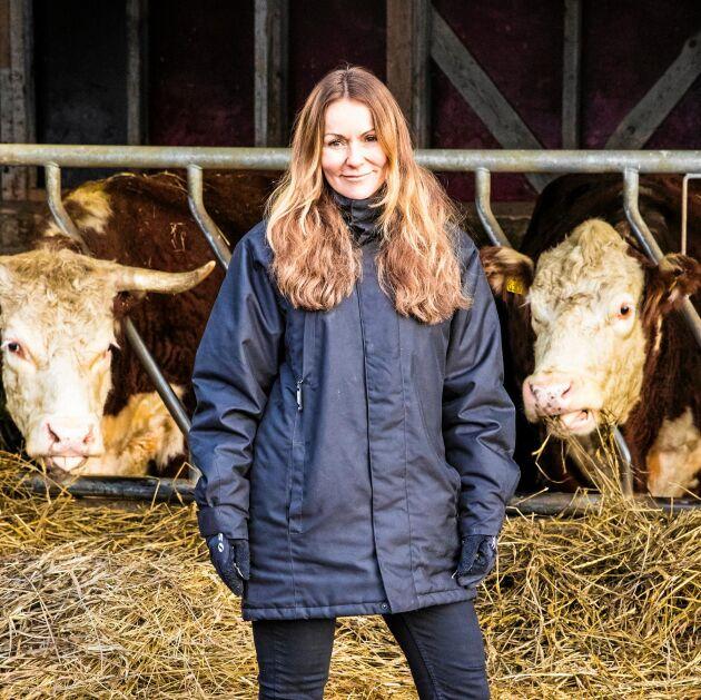 Isabel Moretti är vd för Svenskt Kött. Hon märker att stödet för svenska bönder ökar.