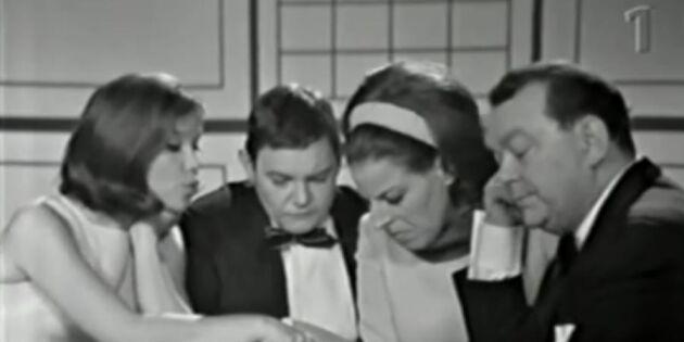 Se sketchen Skattkammarön: 60-talets odödliga humor