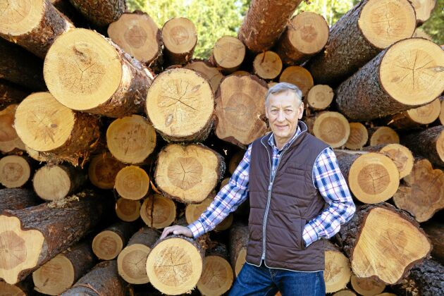 Skogsägaren Göran Engström, Söderbärke.