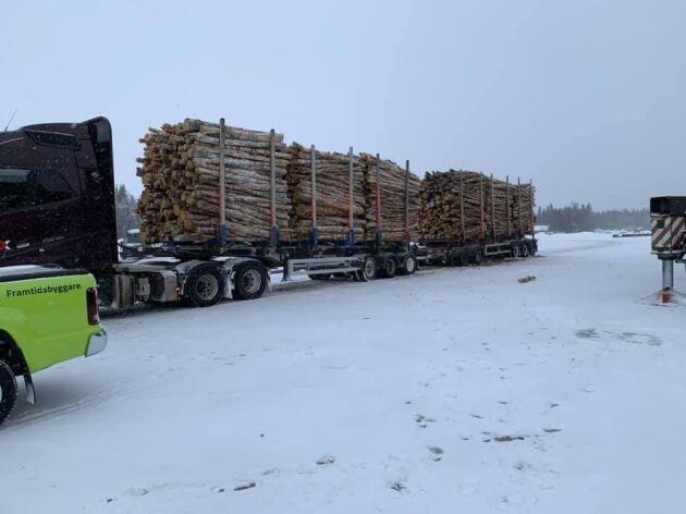 90-tonsekipaget ska transportera björkmassa mellan hamnen och Smurfit Kappas kraftlinersbruk i Piteå.