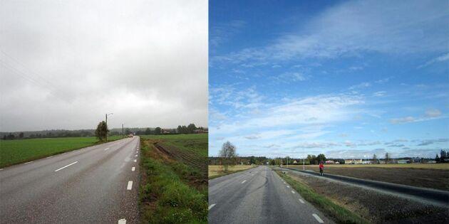 10 mil cykelväg banar vägen för pendling på landsbygden