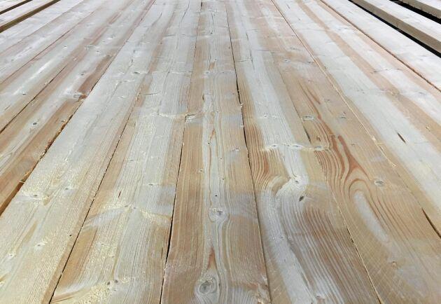 Trävarumarknaden är god just nu, vilket ökar sågverkens lönsamhet.