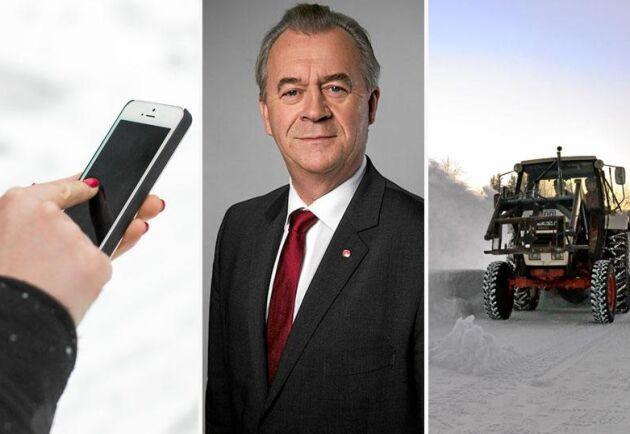 Landsbygdsminister Sven-Erik Bucht (S) har en del att ta itu med, enligt de läsare som hört av sig till Land.