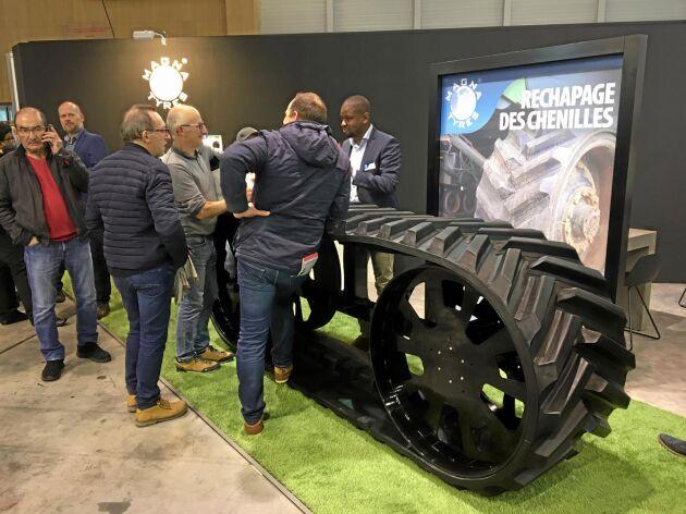 Magna Tyres regummerade drivband.