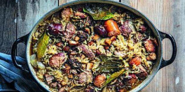 Bigos, polsk surkålsgryta med fläsk och vildsvin – vilka makalösa smaker!