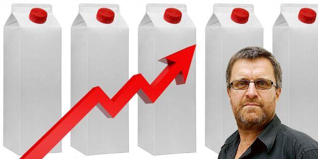 Stigande mjölkpriser bäddar för rolig sommar