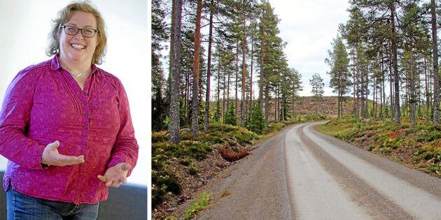 Visa respekt på och för våra skogsbilvägar