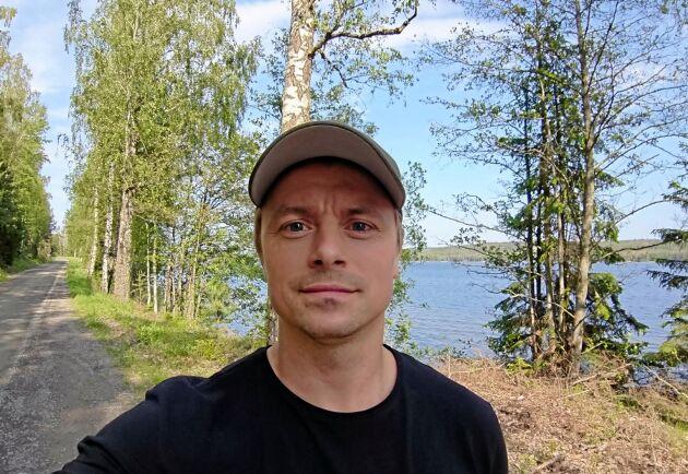 Med hjälp av prispengarna planerar Fredrik Kilberg att rusta upp familjens Valmet-604 från 90-talet och använda den inom sitt hobbyskogsbruk.