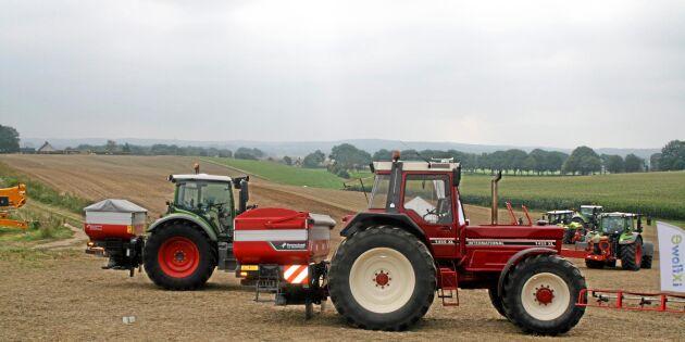 Tar upp kampen om självkörande traktorer