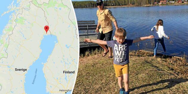 """Barnfamiljer sökte by att """"ta över"""" – nu räcker Gunnar, 87, ut en hand"""