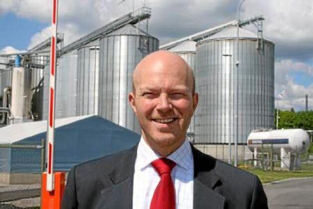 Alarik Sandrup, Lantmännens näringspolitiska chef, menar att det finns en stor potential i den svenska produktionen av biodrivmedel. Men då krävs det en medveten energipolitik.
