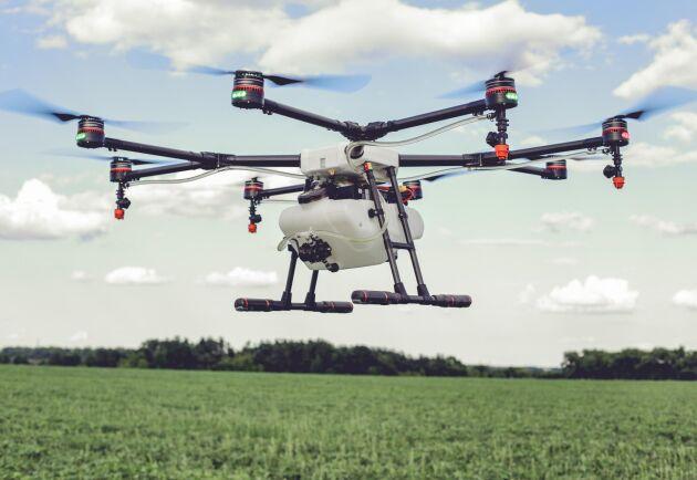 Länsstyrelsen i Kronobergs län kommer att använda drönare för bland annat djurkontroller.