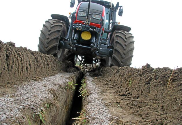 Ökad markpackning och högre skördar skapar nya krav vid dimensionering.