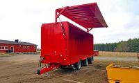 Metsjö lanserar täckt transportvagn