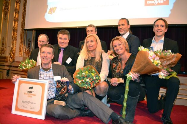 Många glada vinnare på årets Ekogala.