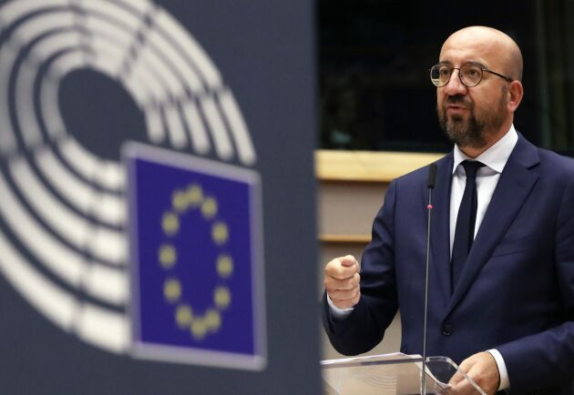 EU:s permanente rådsordförande Charles Michel har nu lagt fram sitt kompromissförslag om coronastöd och nästa långtidsbudget. Arkivbild.