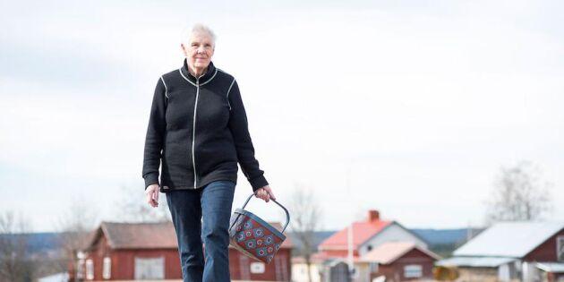 """Berit i Jämtland: """"Jag lever av skogens skafferi"""""""