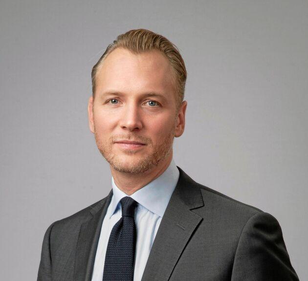 Christian Ekström, VD Skattebetalarnas förening.