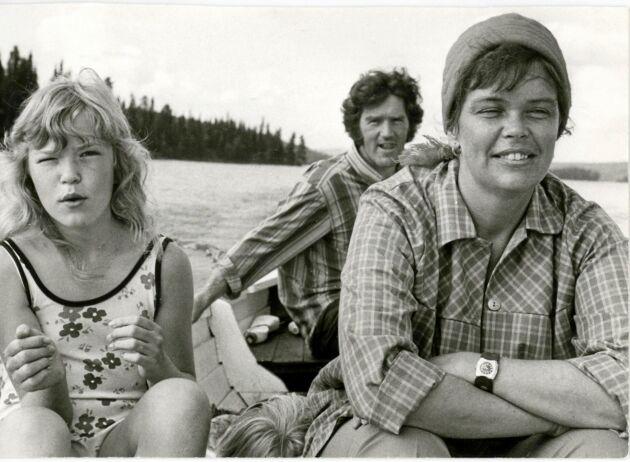 Tänk att enkelt ta båten och ge sig ut på fiske, det var gott om sik i sjön.