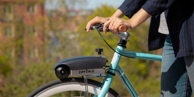 Zipforce elcykelkit: Gör om din cykel till en elcykel på en halvtimme