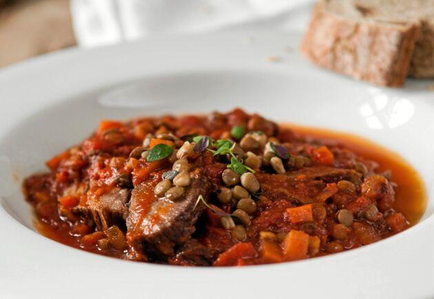 I Toscana jagas mycket vildsvin och viltköttet är en uppskattad ingrediens.
