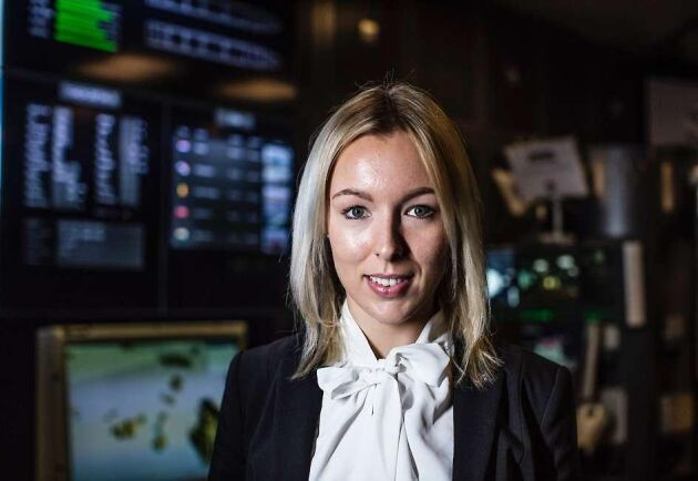 Maria Andersson är civilingenjör på Saab och reservofficer i Försvarsmakten.