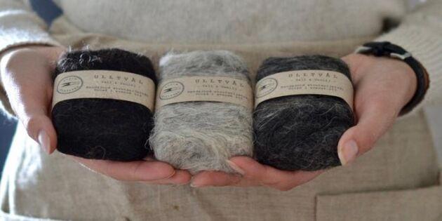 Tovad ulltvål gör huden len utan gifter – ull från svenska får