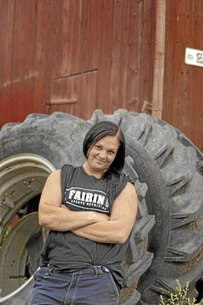 Emelie Backlund, grisskötare och agronomstudent, nummer 46 på listan.