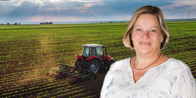 Lena Johansson: Lantbrukare snart hotad art