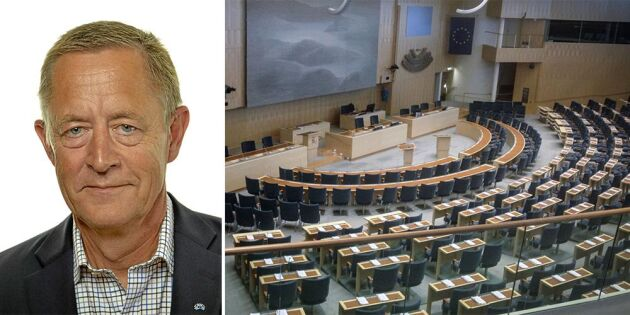 Lars Tysklind förlorar sin plats i riksdagen