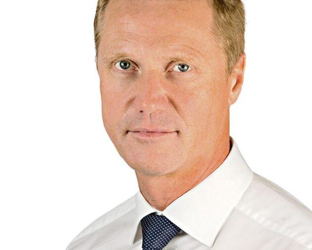 Holmens VD Henrik Sjölund