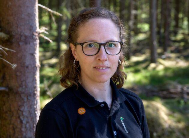 Kerstin Ström, Skogsstyrelsen och projektledare för Stoppa Borrarna.