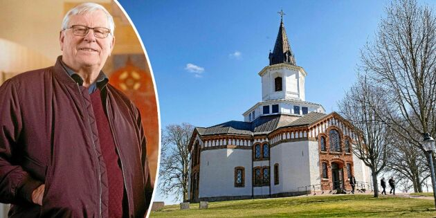 Tage har renoverat 111 av Sveriges landsbygdskyrkor