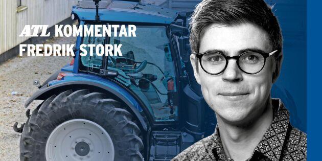 Vätgasdrivna traktorer en kittlande tanke