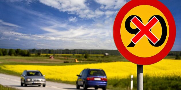 Vägarna som kan få sänkt hastighetsgräns –län för län