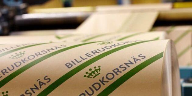EU:s konkurrensmyndighet granskar Billerud Korsnäs