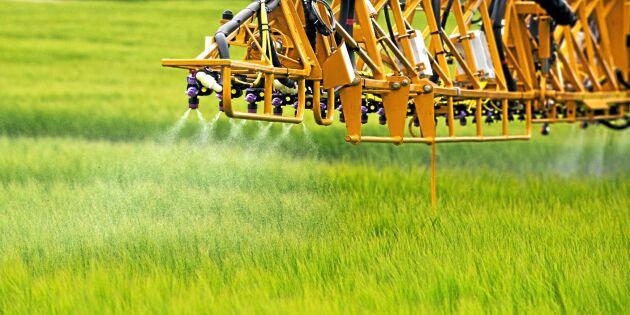 Växtmedelstjuvar i vårbruket