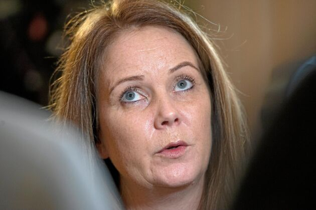 Jennie Nilsson (S), ny lantbruksminister.