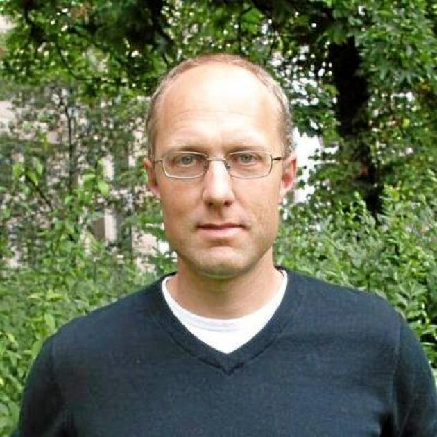 Dennis Eriksson, forskare vid institutionen för växtförädling på Sveriges Lantbruksuniversitet.